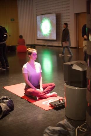 sarah meditating